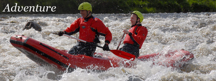 Adventure activities at Sporting Scotland